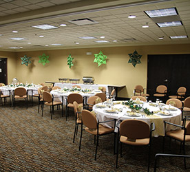 Executive Boardroom decorated at the Wingate by Wyndham Regina